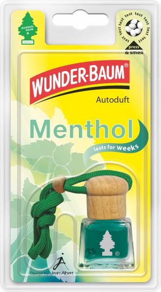 Wunderbaum Duftflakon Menthol, 4 Stück