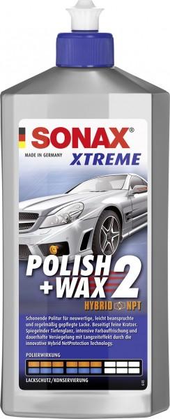 Sonax 02072000 Xtreme Polish+Wax 2 Hybrid 500ml