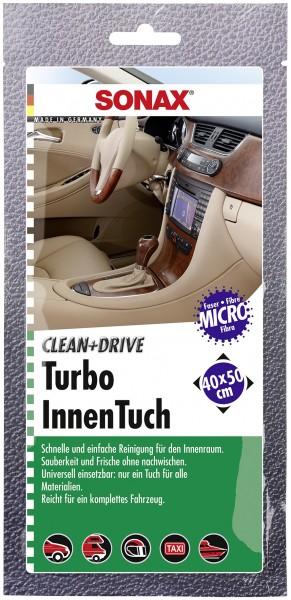 Sonax 04130000 Clean&Drive TurboInnenTuch 40x50cm