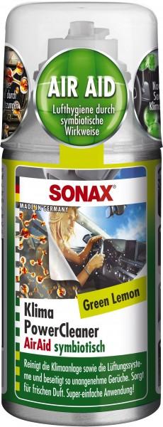 Sonax 03234000 KlimaPowerCleaner AirAid probiotisch Green Lemon 100ml
