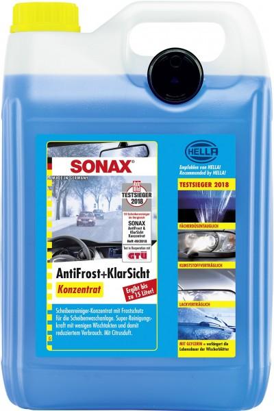 Sonax 03325050 AntiFrost&KlarSicht Konzentrat 5l