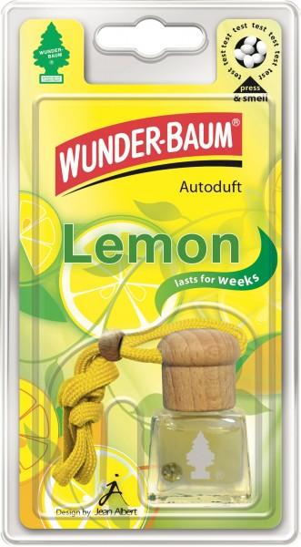 Wunderbaum Duftflakon Lemon, 4 Stück