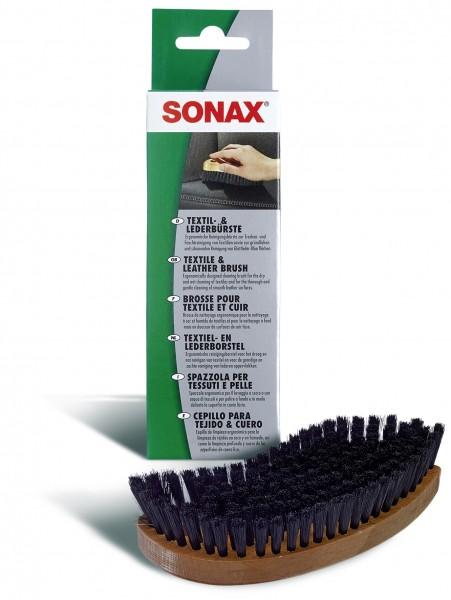 Sonax 04167410 Textil-&LederBürste