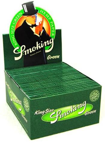 Smoking King Size Green, 50 Hefte je 33 Blatt