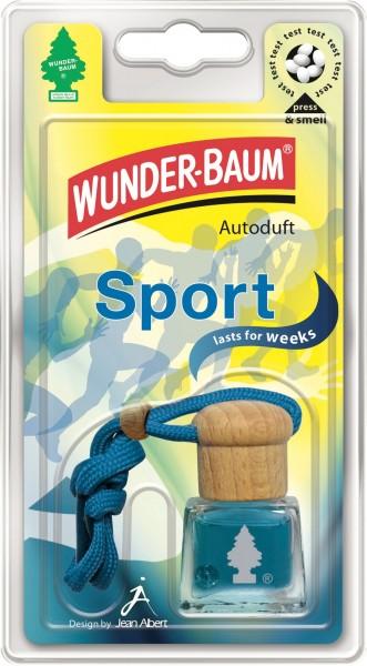 Wunderbaum Duftflakon Sport, 4 Stück