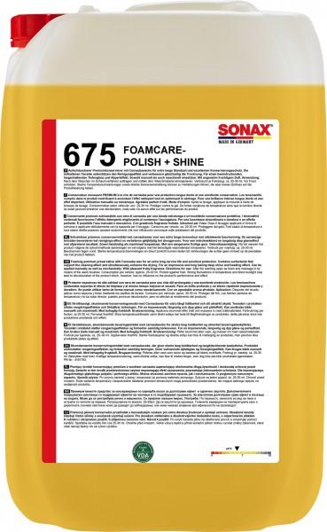 Sonax 06757050 FoamCare Polish+Shine 25l