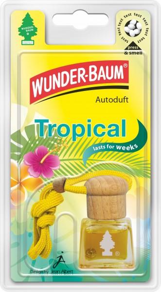 Wunderbaum Duftflakon Tropical, 4 Stück