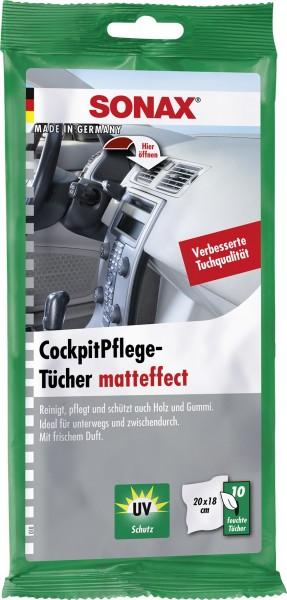 Sonax 04158000 CockpitPflegeTücher matteffect Flowpack