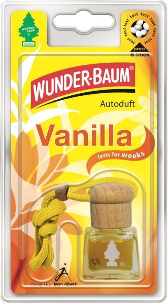 Wunderbaum Duftflakon Vanilla, 4 Stück