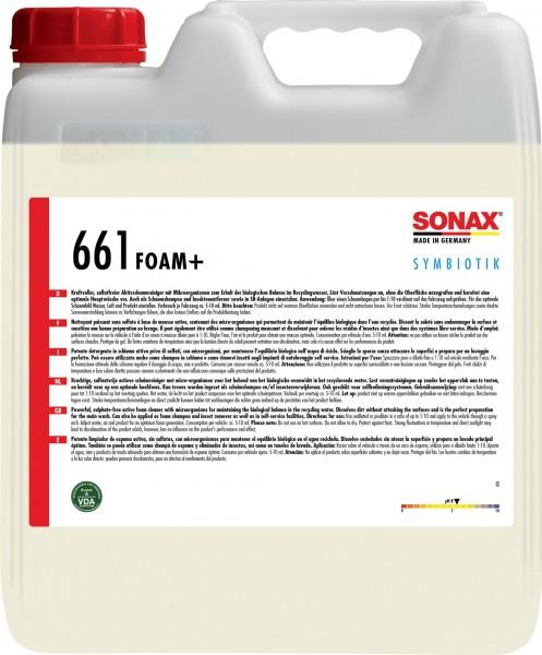 Sonax 06616000 Foam+ Symbiotik 10l