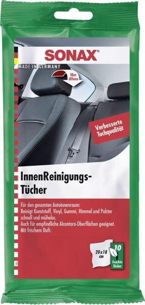 Sonax 04159000 InnenReinigungsTücher 10Tücher