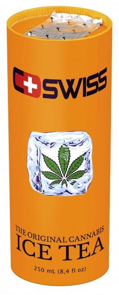 C-Swiss Cannabis Ice Tea 250ml pfandfrei, 12Dosen