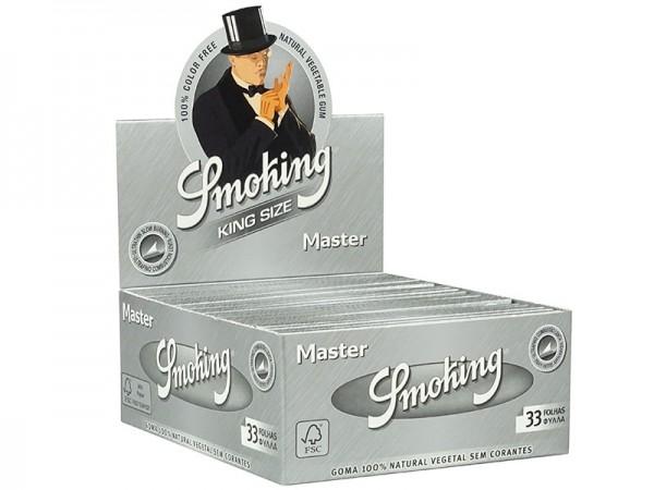 Smoking King Size Master, 50 Hefte je 33 Blatt