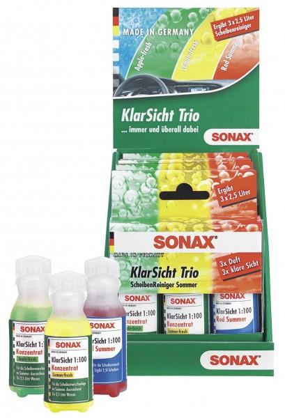 Sonax 03739410 KlarSicht Trio, 3x25ml