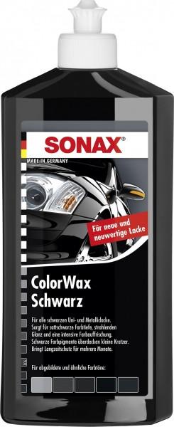 Sonax 02982000 ColorWax schwarz 500ml
