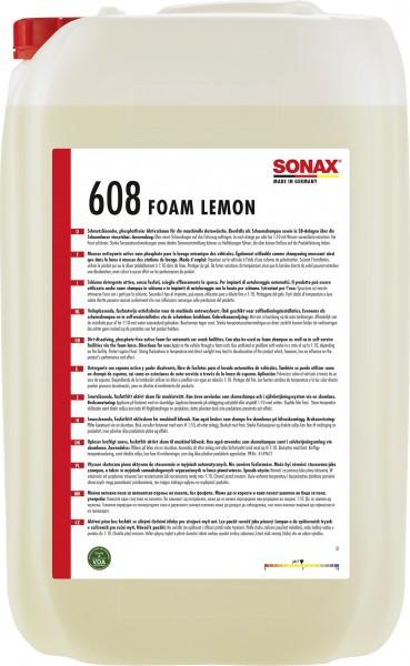 Sonax 06087050 Foam Lemon 25l