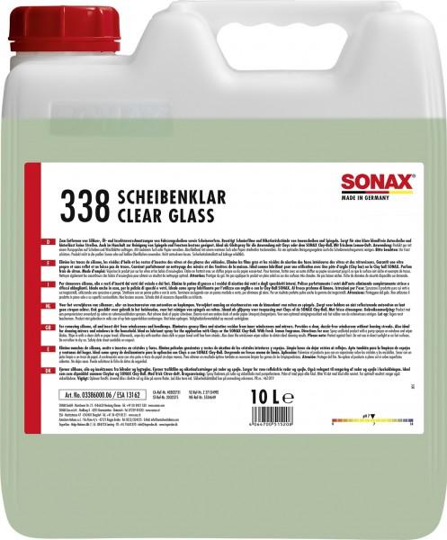 Sonax 03386000 ScheibenKlar 10l