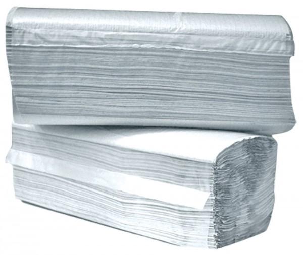 Einweghandtücher weiß ZZ-Falz 3200Stk 2lagig (25x23cm)