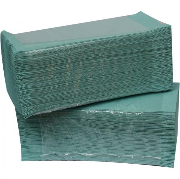 Einweghandtücher grün ZZ-Falz 5000Stk (25x23cm)