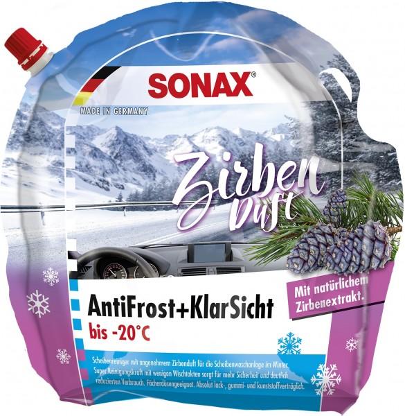 Sonax 01314410 AntiFrost&KlarSicht Gebrauchsfertig 3l Zirbenduft