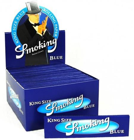 Smoking King Size Blue, 50 Hefte je 33 Blatt