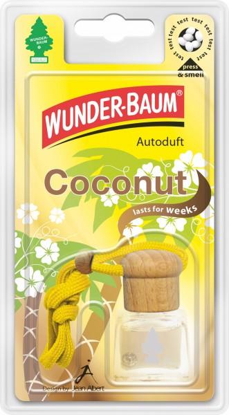 Wunderbaum Duftflakon Coconut, 4 Stück