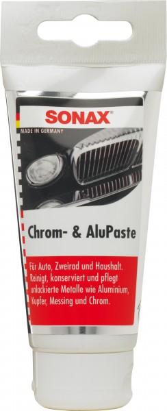 Sonax 03080000 Chrom- & AluPaste 75ml