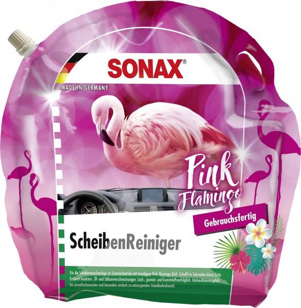 Sonax 03894410 ScheibenReiniger gebrauchsfertig 3l Pink Flamingo