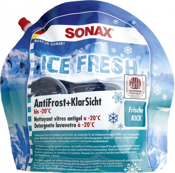Sonax 01334410 AntiFrost&KlarSicht Gebrauchsfertig 3l IceFresh