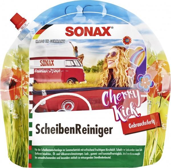 Sonax 03924410 ScheibenReiniger gebrauchsfertig 3l Cherry Kick