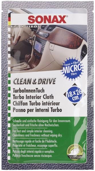 Sonax 04132000 Clean&Drive TurboInnenTuch 18x26cm